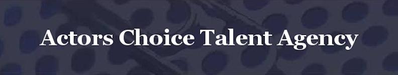 actors choice talent logo