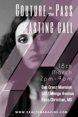 exalte fashion event casting