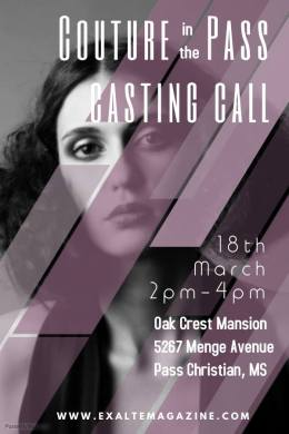 exalte fashion event casting