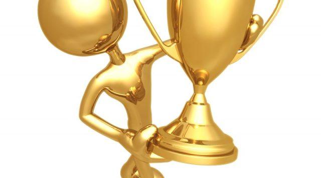 trophy presenter