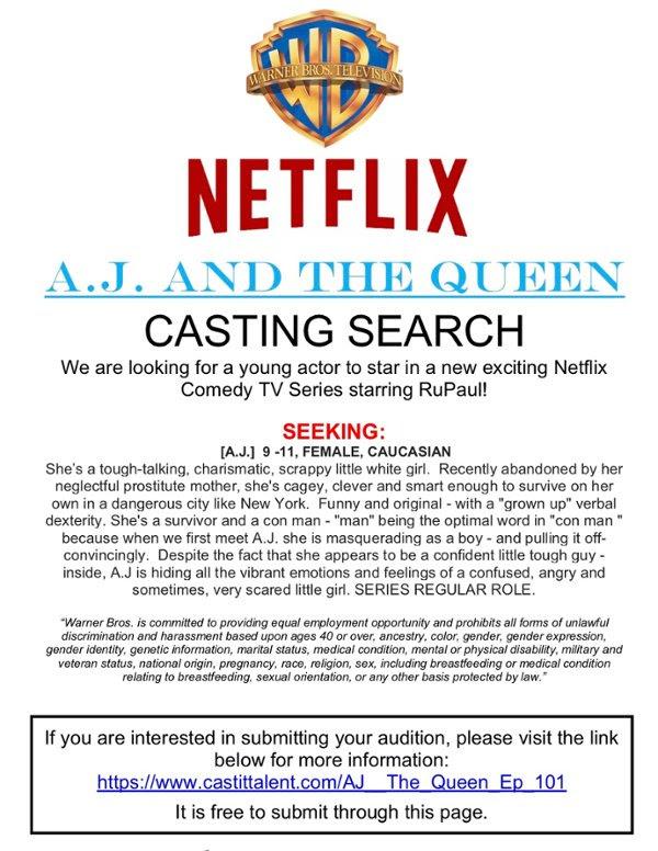 netflix casting tv series