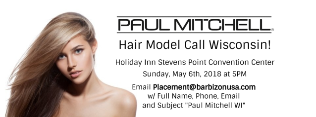 paul-mitchell-wisconsin-model-casting-call