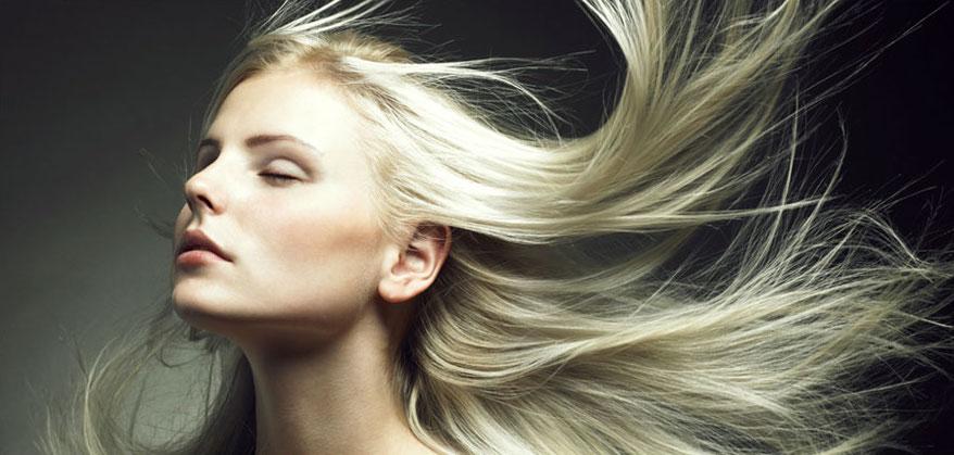 blonde hair models