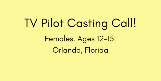 tv-pilot-casting-call