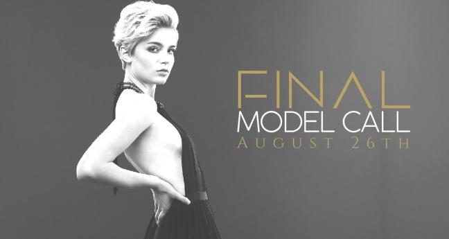 GSOFW greensboro fashion week model casting