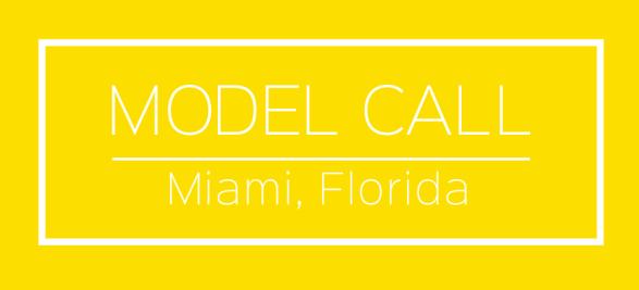 model call miami florida