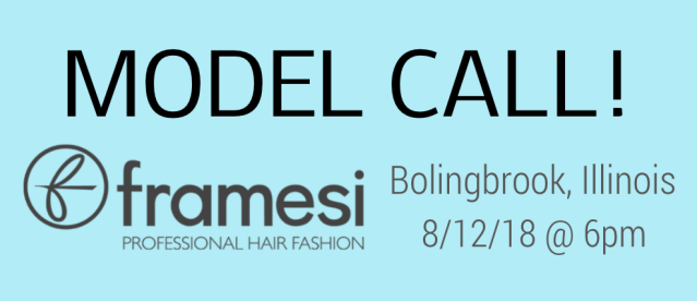 model casting call bolingbrook illinois hair show