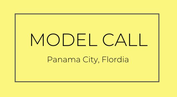 panama city florida model casting call