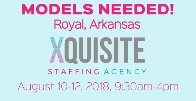 xquisite model casting call arkansas