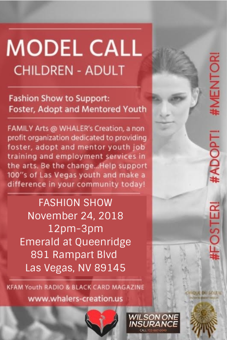 fashion show las vegas model call