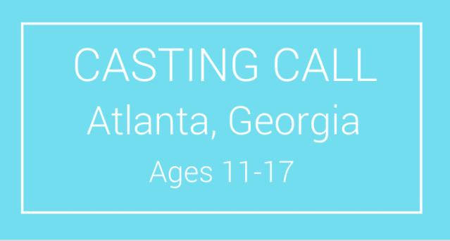 kids casting calls atlanta georgia