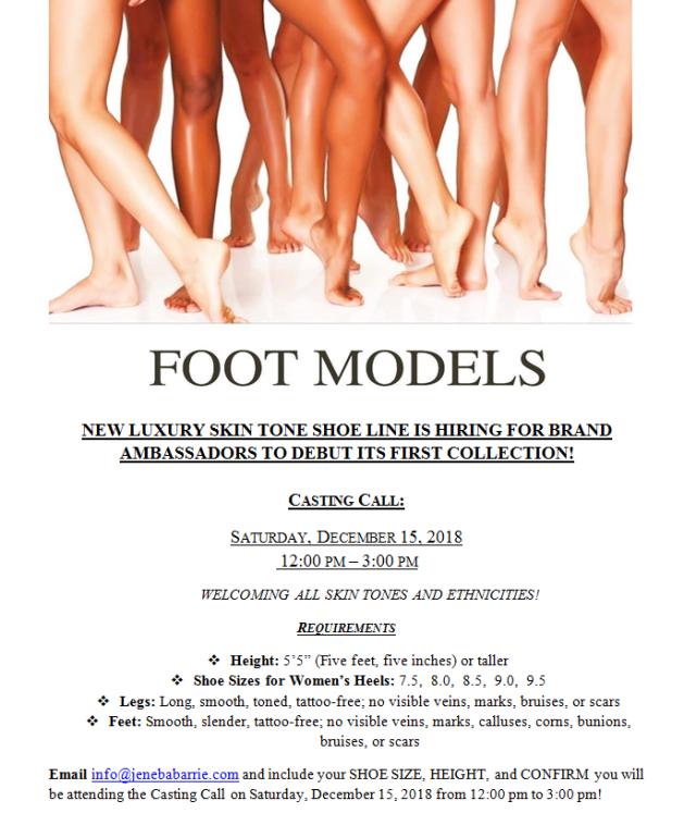 model casting call brand ambassadors