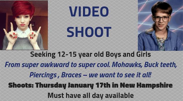 boston casting teens