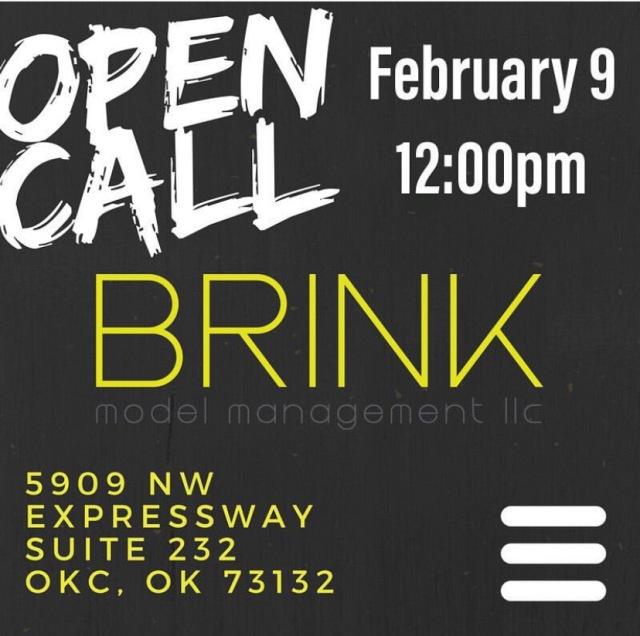 brink models okc open casting call