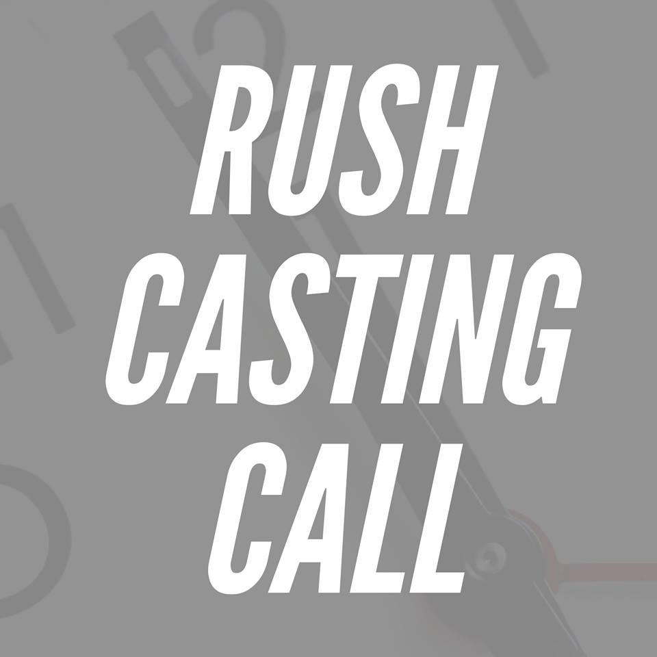 rush casting call