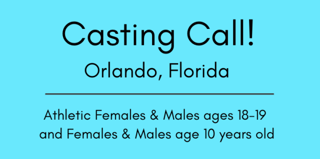 casting calls orlando florida auditions