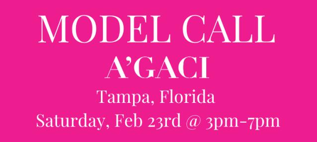 Tampa Florida Model Casting Calls