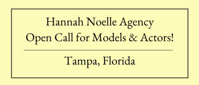 Open Casting Calls Auditions Tampa Florida