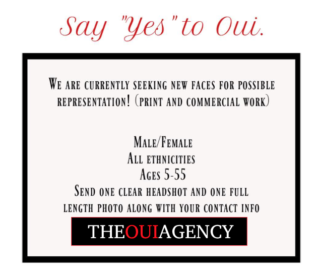 Atlanta modeling agencies oui agency model casting calls
