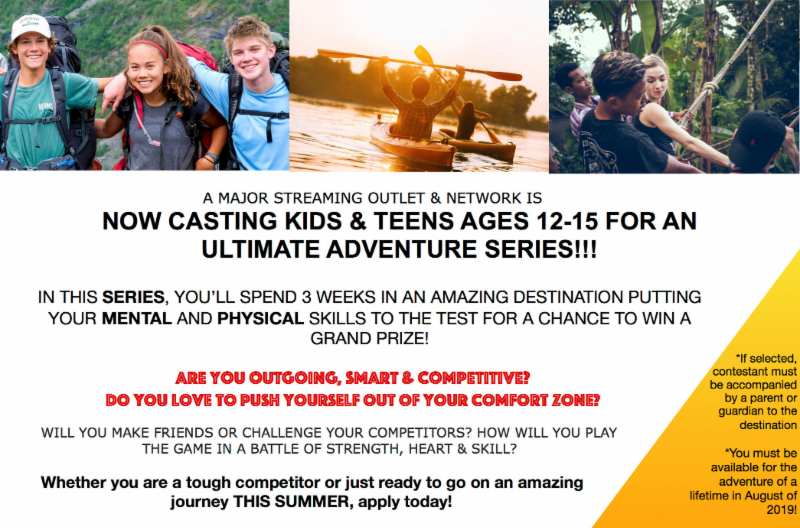 boston casting kids and teens adventure series