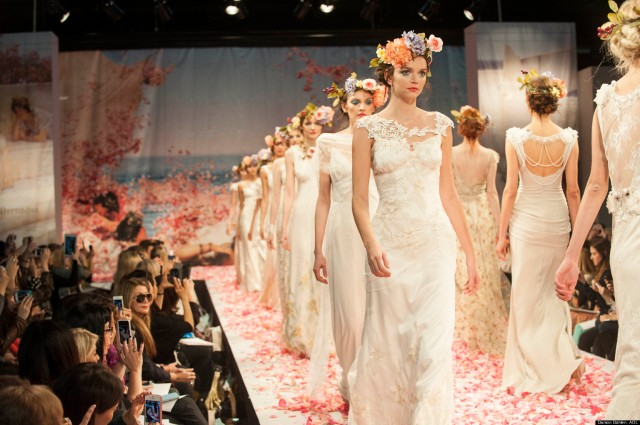 Bridal Fashion Show - Claire Pettibone