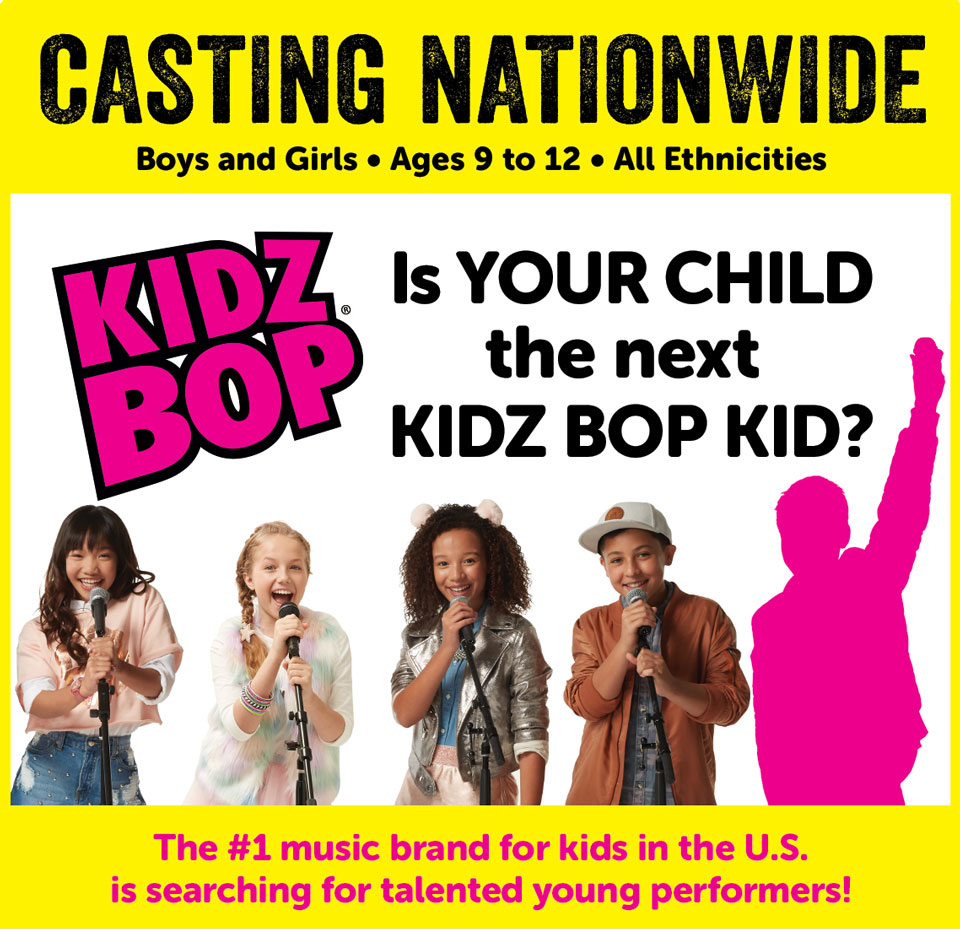 kids casting kidz bop auditions